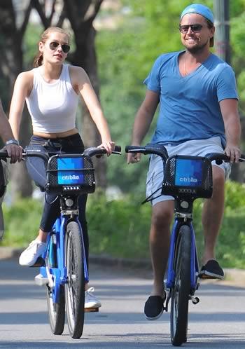 Leonardo DiCaprio and Georgia Fowler