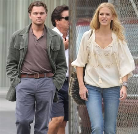 Leonardo-DiCaprio and Erin Heatherton