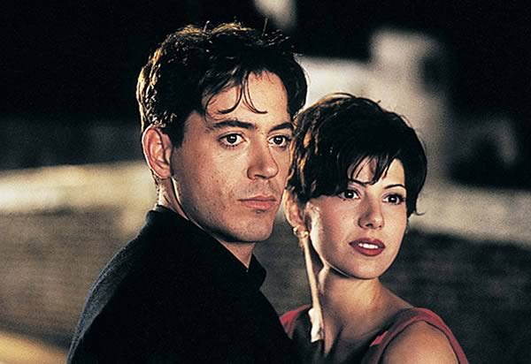 Robert Downey Jr and Marisa Tomei