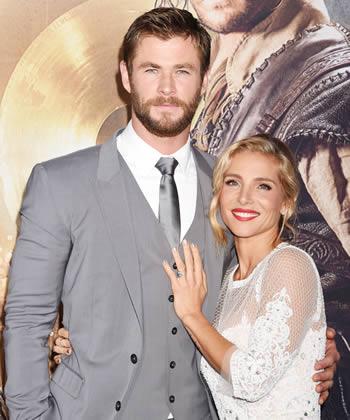 Chris Hemsworth wife