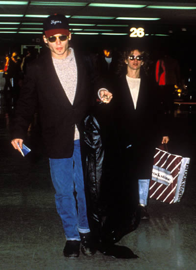 Johnny Depp Jennifer Grey