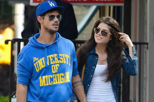 Taylor Lautner Marie Avgeropoulos