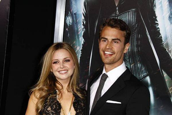 Who is theo james dating right now