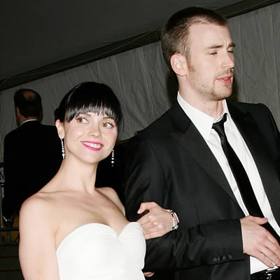 Chris Evans and Christina Ricci