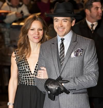 Robert Downey Jr wife Susan Levin