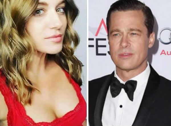 Brad Pitt and April Florio