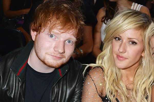 Ed Sheeran and Ellie Goulding