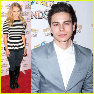 Jake T. Austin and AnnaSophia Robb