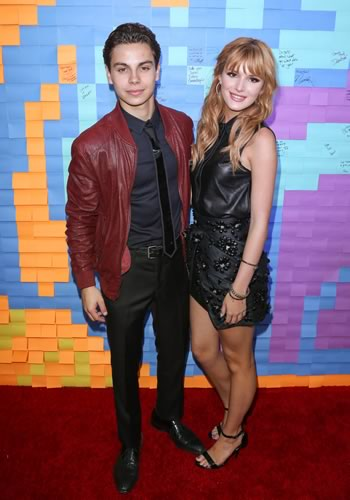 Jake T Austin and Bella Thorne