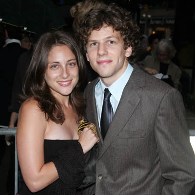 Jesse Eisenberg ex girlfriend