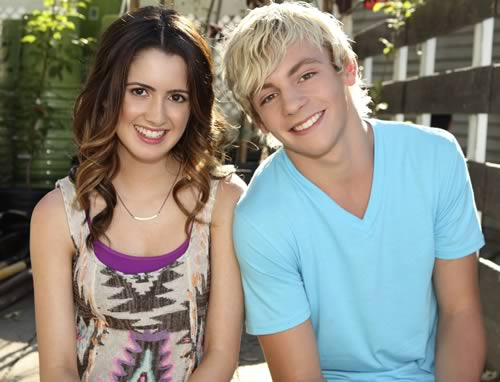 Ross Lynch and Laura Marano