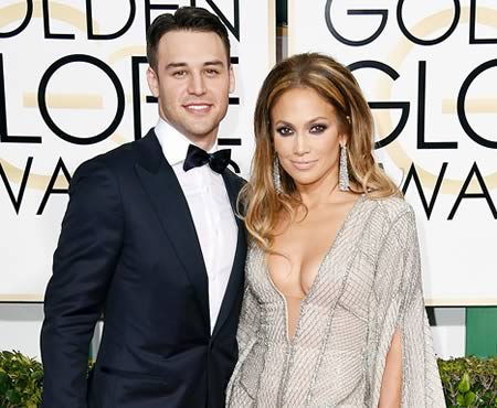 Ryan Guzman and Jennifer Lopez