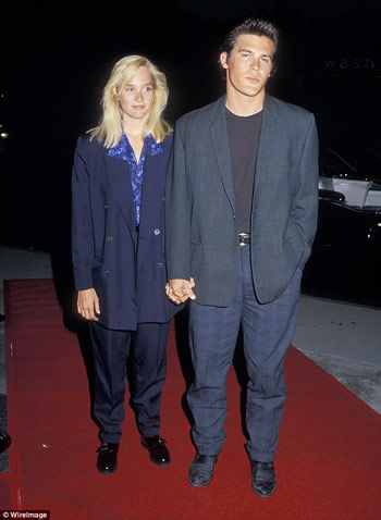 Josh Brolin and Alice Adair