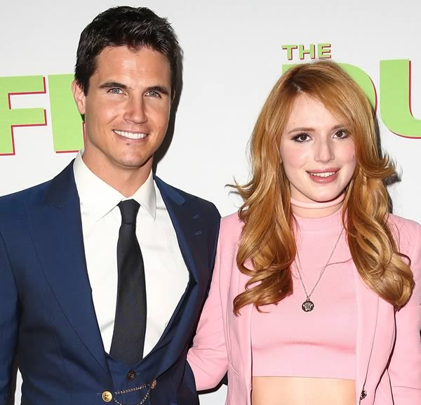 Robbie Amell and Bella Thorne