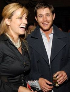 Jensen Ackles and Tania Saulnier
